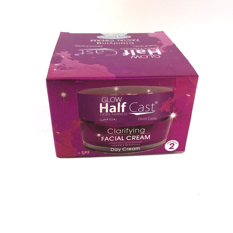 Glow Half Cast Extra Fairness Clarifying Day Cream - Lami Fragrance