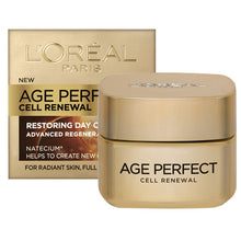 Load image into Gallery viewer, L'oreal Age Perfect Cell Renew Day Cream SPF 15