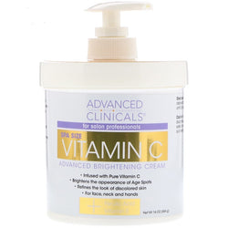Advanced Clinicals Vitamin C Brightening Cream