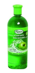 Alpen Skin Care Green Apple Moisturizing Foam Bath Bain Mousse - 1 Ltr