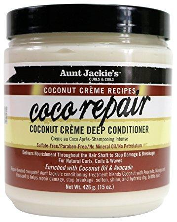 Aunt Jackie's Hair Care Coconut Crème Deep Conditioner 15oz
