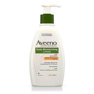 Aveeno Body Lotion Daily Moisturizing Body Lotion With SPF 15 - 354ml
