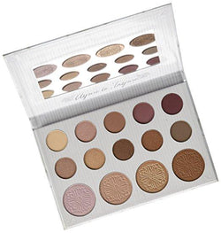 Carli Bybel 14 Color Eyeshadow & Highlighter Palette