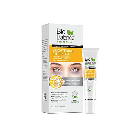 Bio Balance Skin Care BRIGHTENING EYE CREAM - 15ml