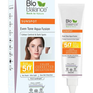 Bio Balance Even Tone Aqua Fusion Sunspot Cream SPF50 - Lami Fragrance