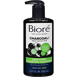 Biore Deep Pore Charcoal Cleanser for Oily Skin 200ml