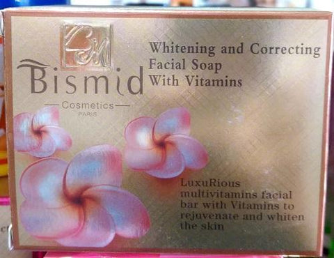 Bismid Cosmetics Whitening & Correcting  Facial Soap With Vitamins
