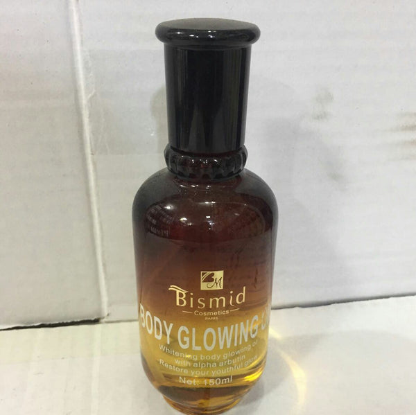 Bismid Skin Care Body Glowing Oil - 150ml