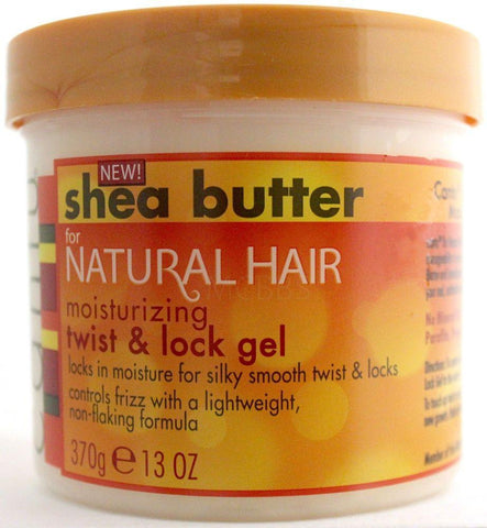 Cantu Hair Care Shea Butter For Natural Hair Moisturizing Twist & Lock Gel