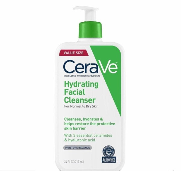 Cerave hydrating facial cleanser 24oz