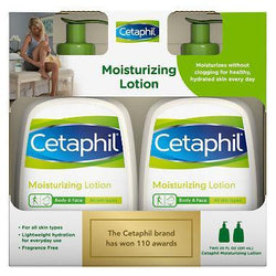 Cetaphil Skin Care Moisturizing Lotion Twin Pack 591ml Each
