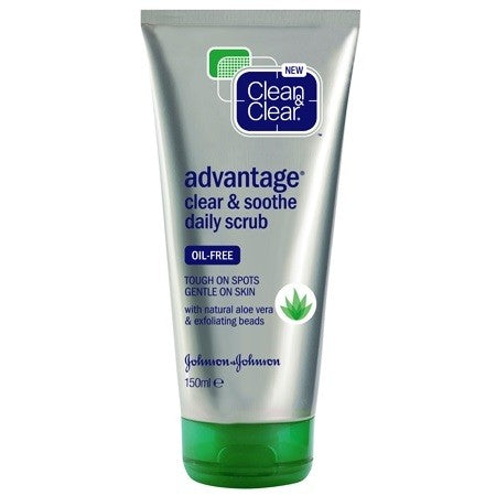 Clean & Clear Advantage Clear and Soothe Daily Scrub