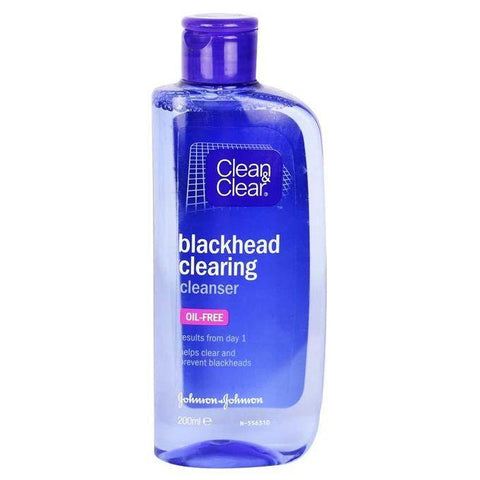 Clean & Clear Skin Care Blackhead Clearing Cleanser 200ml