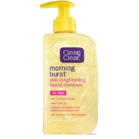 Clean & Clear Skin Care Morning Burst Skin Brightening Facial Cleanser