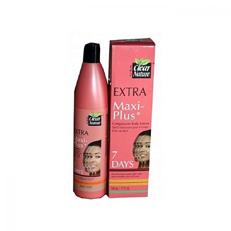 Clear Nature Extra Maxi Plus Body Lotion 500ml