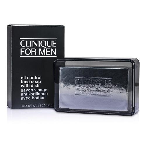 Clinique Skin Care for Men Face Soap with Dish - 150g