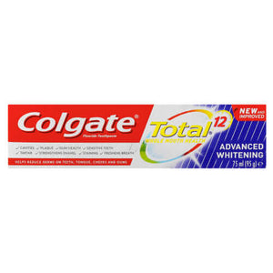 Colgate Total 12 Advanced Whitening Tooth Paste 75ml - Lami Fragrance