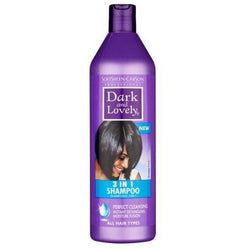 Dark and Lovely Hair Care 3 In 1 Shampoo - 500ml