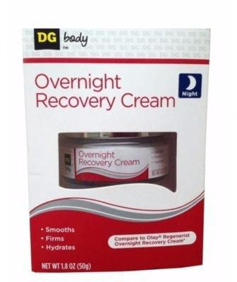 DG Body Overnight Recovery cream 50g