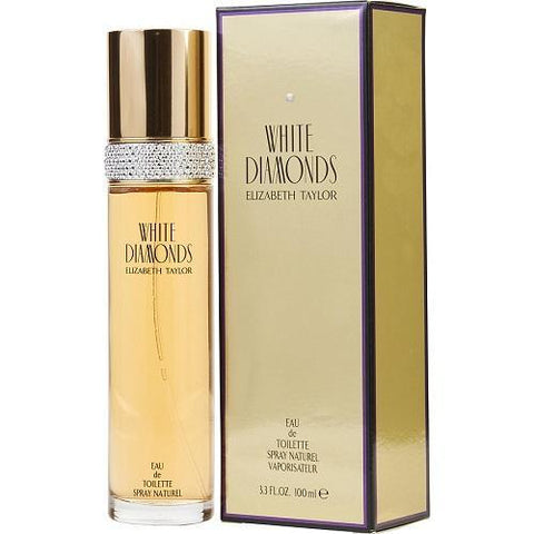 Elizabeth Taylor Fragrance White Diamonds EDT for Women - 100ml