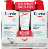 Eucerin Intensive Repair Twin Pack Lotion with Hand Cream