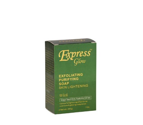 Express Glow Bath and Body Exfoliating Purifying Soap