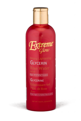 Extreme Glow Skin Care Strong Lightening Glycerin Rose Water 500ml