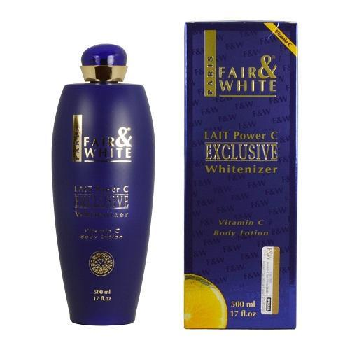 Fair & White Skin Care Exclusive Whitenizer Body Lotion with Vitamin C - 500ml