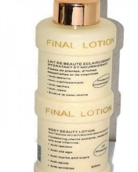 Final White Skin Care Lotion Body Beauty Lotion