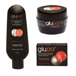 Glupa Skin Care Glutathione Papaya Lotion, Cream And Soap