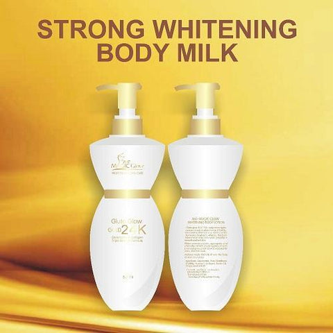Gluta Glow Skin Care Magic Glow Gluta Glow Gold 24k Body Milk - 500ml