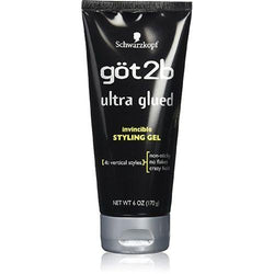 Got2b Ultra Glued Invincible Styling Hair Gel 170g