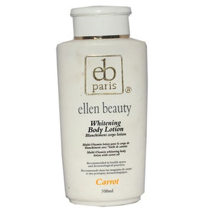 Ellen Beauty Whitening Body Lotion with Carrot Extract 500ml