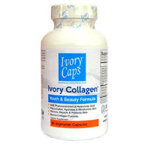 Ivory Caps Dietary Supplement Collagen Youth & Beauty Formula - 90Caps