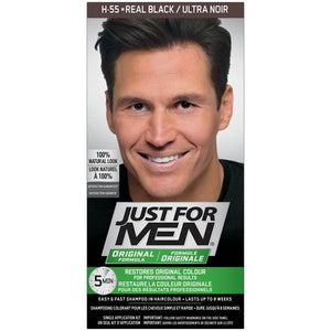 Just for Men Hair Shampoo - Real Black