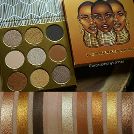 Juvia's Place The Warrior Eyeshadow Palette swatches