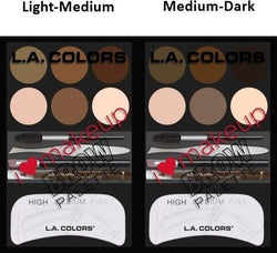 L.A. Colors Make-Up I Love Makeup Brow Palette