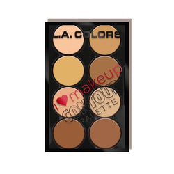 L.A. Colors Make-Up I Love Makeup Contour Palette