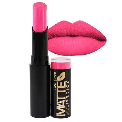 L.A. Girl Make-Up Matte Flat Velvet Lipstick - Arm Candy