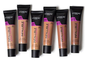 L'Oréal Foundation Infallible Total Cover Foundation 30ml