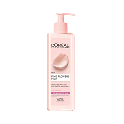 L'Oréal Skin Care Fine Flowers Cleansing Milk - 400ml