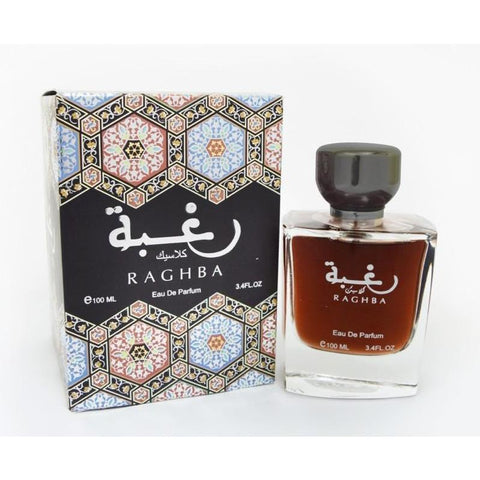 Lattafa Fragrance Raghba Classic EDP - 100ML