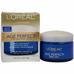 L'oreal Age Perfect Anti-Sagging + Anti Age Spot Night Cream 70g