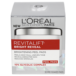 Loreal Revitalift Bright Reveal Pads