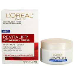 L'Oreal Revitalift Anti Wrinkle + Firming Night Cream 48g