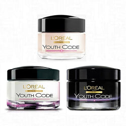 Youth Code Programme Rejuvenating Anti-Wrinkle Night, Day & Eye Cream