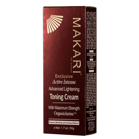 Makari Skin Care Exclusive Toning Cream - 50g
