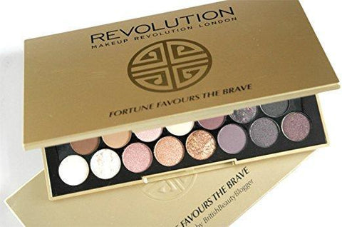 Makeup Revolution Make-Up Fortune Favours the Brave Eyeshadow Palette