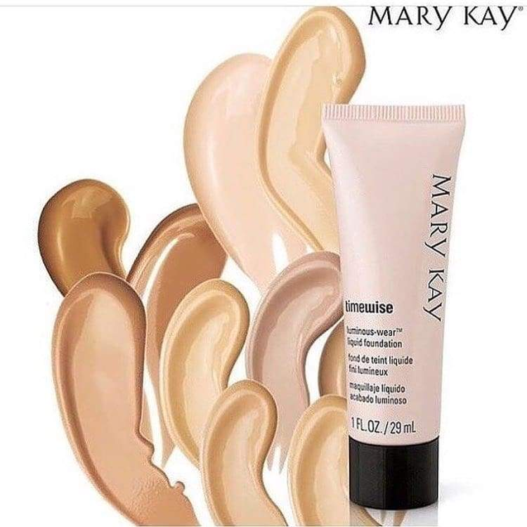 Mary Kay makeup Timewise Luminous-Wear Liquid Foundation 29ml