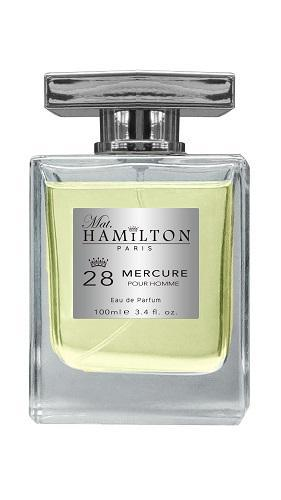 Mat. Hamilton Fragrance Mercure 28 EDP for Men - 100ml